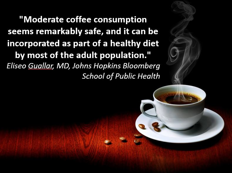 Drink Coffee, Live Longer, and Smile More!